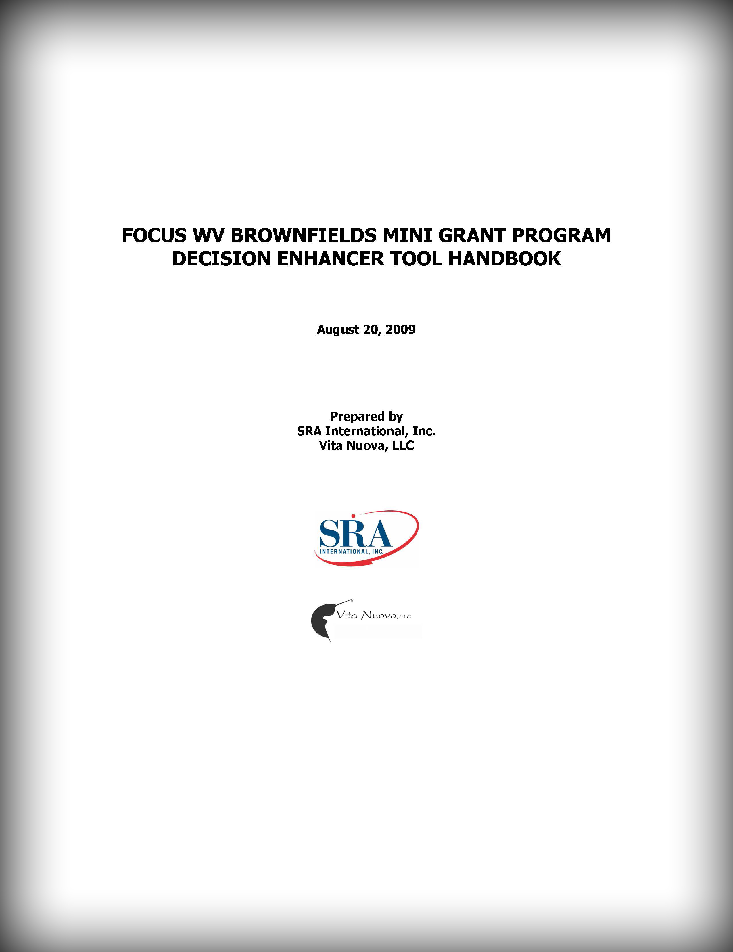 DET Handbook cover page
